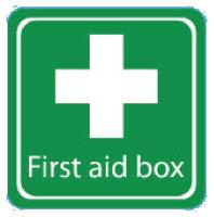 Der Erste Hilfe Kurs ist die Erste-Hilfe-Box für Jugendleitende