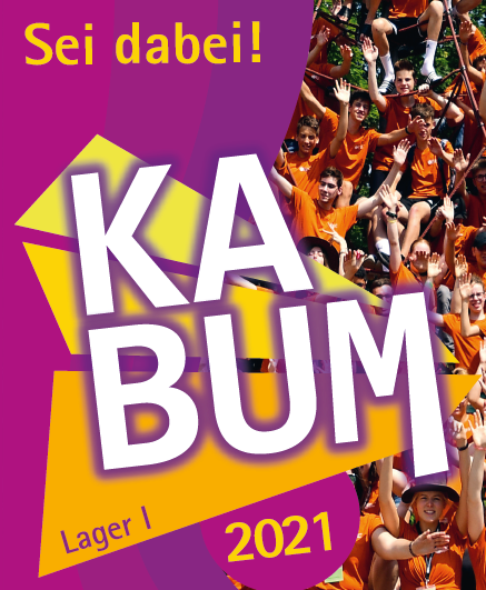Herzliche Einladung zu KABUM 2021!