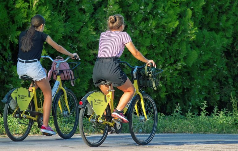 Fahrradfahren Symbolbild
